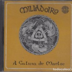 CDs de Música: MILLADOIRO - A GALICIA DE MAELOC - FOLKLORE GALLEGO - CD EN PERFECTAS CONDICIONES #. Lote 236892970