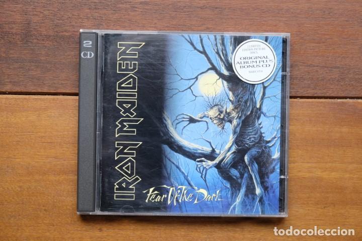 CDs de Música: IRON MAIDEN FEAR OF THE DARK 2CD + BONUS TRACKS - Foto 2 - 236896800