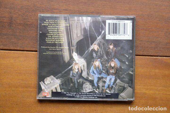 CDs de Música: IRON MAIDEN FEAR OF THE DARK 2CD + BONUS TRACKS - Foto 3 - 236896800