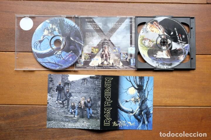 CDs de Música: IRON MAIDEN FEAR OF THE DARK 2CD + BONUS TRACKS - Foto 4 - 236896800