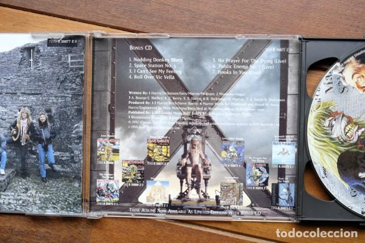 CDs de Música: IRON MAIDEN FEAR OF THE DARK 2CD + BONUS TRACKS - Foto 7 - 236896800