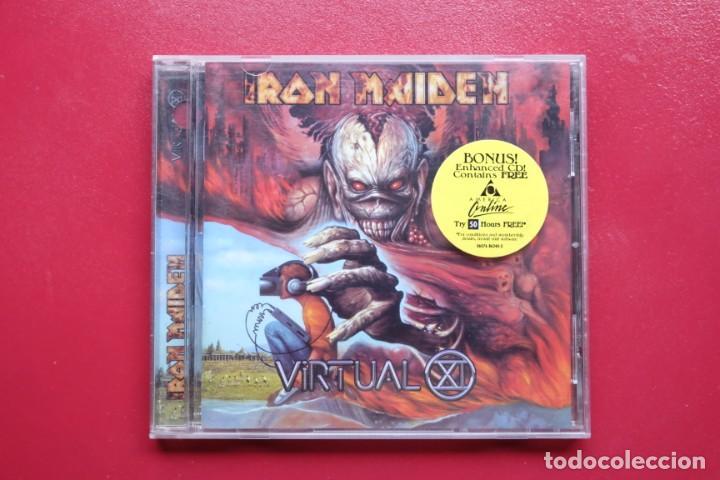 IRON MAIDEN VIRTUAL CD ENHANCED USA (Música - CD's Heavy Metal)