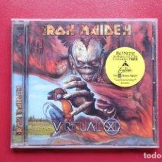 CDs de Música: IRON MAIDEN VIRTUAL CD ENHANCED USA. Lote 236897270