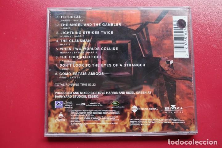 CDs de Música: IRON MAIDEN VIRTUAL CD enhanced USA - Foto 2 - 236897270