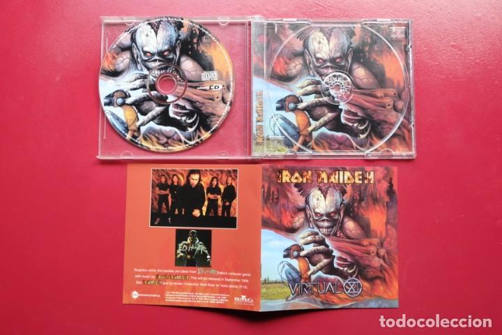CDs de Música: IRON MAIDEN VIRTUAL CD enhanced USA - Foto 3 - 236897270