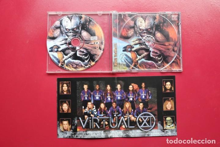 CDs de Música: IRON MAIDEN VIRTUAL CD enhanced USA - Foto 4 - 236897270