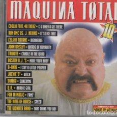 CDs de Musique: MAQUINA TOTAL 10 - DOBLE CD EN PERFECTAS CONDICIONES #. Lote 236902250