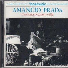 CDs de Música: AMANCIO PRADA - CANCIONES DE AMOR Y CELDA - CD FONOMUSIC 1987 #. Lote 236908300