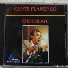CDs de Música: CD 1992 EDICIÓN FRANCESA - CHOCOLATE / CANTE FLAMENCO. Lote 236916325