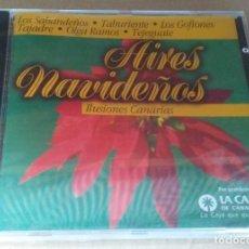 CDs de Música: AIRES NAVIDEÑOS ILUSIONES CANARIAS LOS SABANDEÑOS,OLGA RAMOS,TABURIENTE 12 TEMAS (2000) PRECINTADO!. Lote 236947820