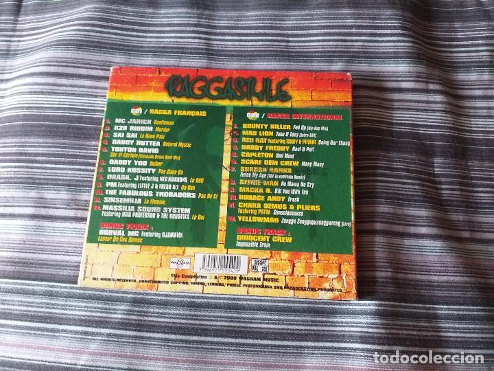 CDs de Música: CD DOBLE RAGGASTYLE - BOUNTY KILLER SAI SAI LORD ROSSITY - Foto 5 - 236970920