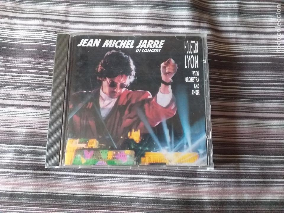CD JEAN MICHEL JARRE IN CONCERT IN HOUSTON LYON WITH ORCHESTRA AND CHOR (Música - CD's New age)