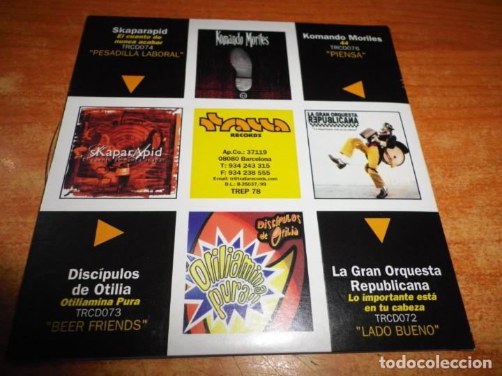 CDs de Música: SE BUSCAN CD MAXI SINGLE EP PROMO TRALLA RECORDS KOMANDO MORILES SKAPARAPID DISCIPULOS DE OTILIA - Foto 2 - 236985115