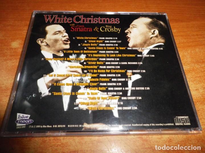 CDs de Música: FRANK SINATRA AND BING CROSBY White Christmas CD ALBUM 1994 CAROL RICHARDS ANDREWS SISTERS RARO - Foto 2 - 236988105