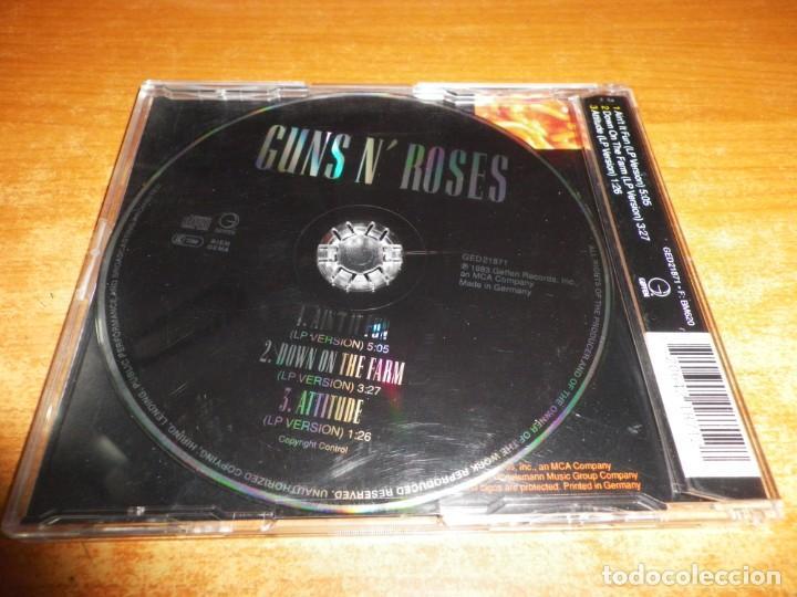CDs de Música: GUNS N ROSES Aint it fun CD SINGLE AÑO 1993 ALEMANIA PORTADA DE PLASTICO CONTIENE 3 TEMAS - Foto 2 - 236992575
