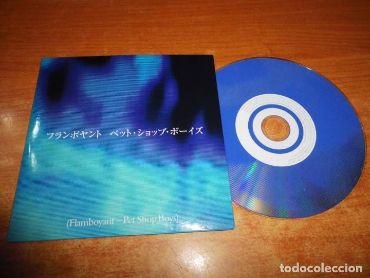 PET SHOP BOYS FLAMBOYANT PSB CD SINGLE PROMO AÑO 1993 UK PORTADA DE CARTON CONTIENE 1 TEMA (Música - CD's Pop)