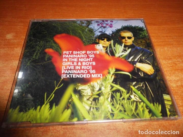 PET SHOP BOYS PANINARO '95 PSB CD MAXI SINGLE DEL AÑO 1995 HOLANDA PORTADA DE PLASTICO 4 TEMAS (Música - CD's Pop)