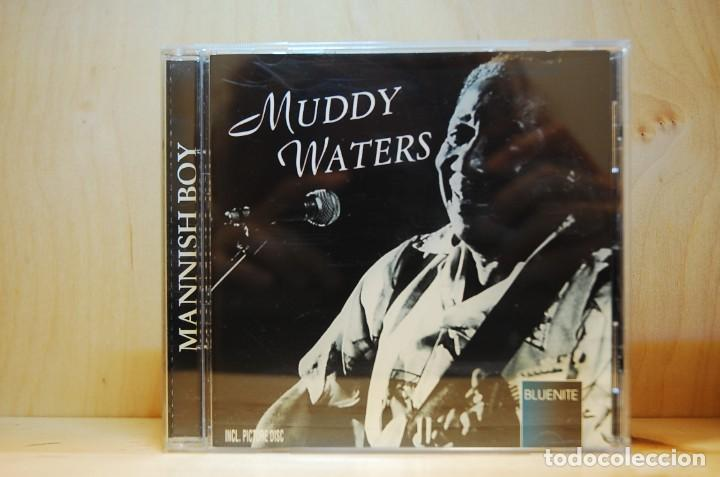 MUDDY WATERS - MANISH BOY (SELLO BLUENITE) - CD - (Música - CD's Jazz, Blues, Soul y Gospel)