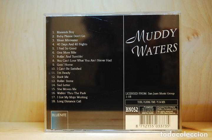CDs de Música: MUDDY WATERS - MANISH BOY (SELLO BLUENITE) - CD - - Foto 2 - 237008985
