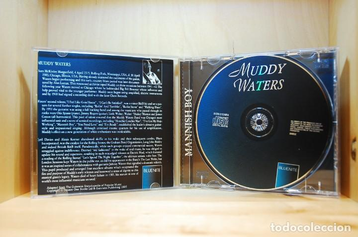 CDs de Música: MUDDY WATERS - MANISH BOY (SELLO BLUENITE) - CD - - Foto 3 - 237008985