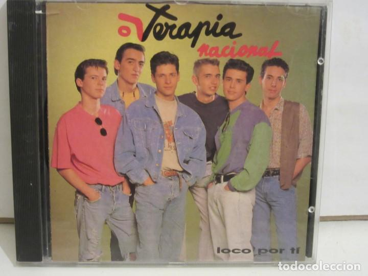 TERAPIA NACIONAL - LOCO POR TI - CD - 1991 - SPAIN - NM+/VG (Música - CD's Pop)