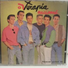 CDs de Música: TERAPIA NACIONAL - LOCO POR TI - CD - 1991 - SPAIN - NM+/VG. Lote 237009025