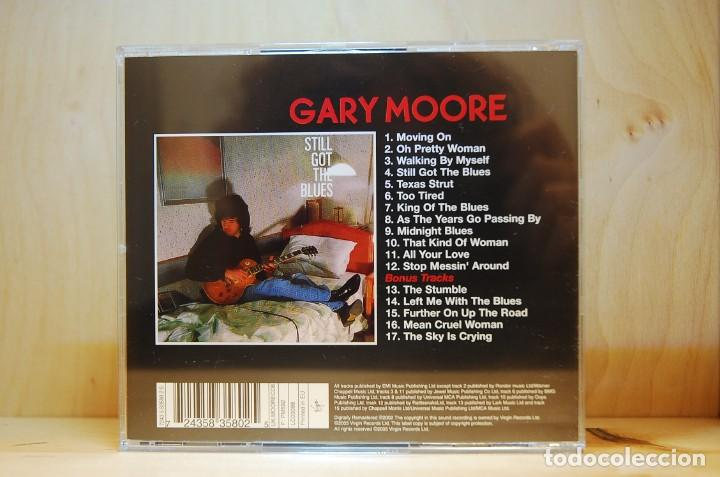 CDs de Música: GARY MOORE - STILL GOT THE BLUES - CD - - Foto 2 - 237009215