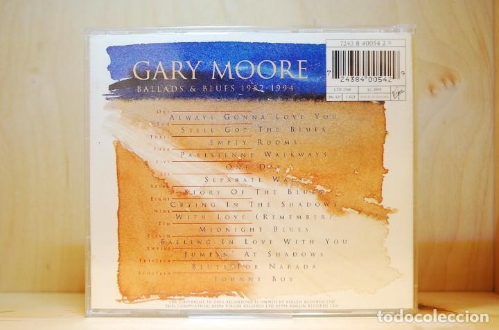 CDs de Música: GARY MOORE - BALLADS AND BLUES 1982/1994 - CD - - Foto 2 - 237009375