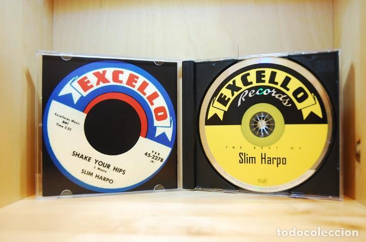 CDs de Música: SLIM HARPO - THE BEST OF - CD - - Foto 3 - 237009565