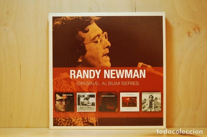 RANDY NEWMAN - ORIGINAL ALBUM SERIES - 5 CD - (Música - CD's Jazz, Blues, Soul y Gospel)