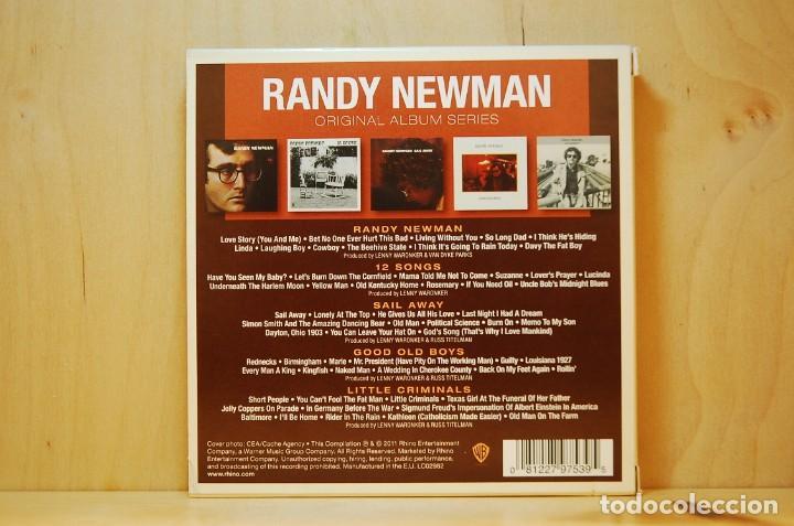CDs de Música: RANDY NEWMAN - ORIGINAL ALBUM SERIES - 5 CD - - Foto 2 - 237009840