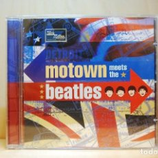 CDs de Música: MOTOWN MEETS THE BEATLES - CD -. Lote 237010135