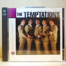 CDs de Música: THE TEMPTATIONS - THE BEST OF - CD -. Lote 237010545