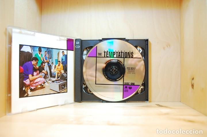 CDs de Música: THE TEMPTATIONS - THE BEST OF - CD - - Foto 3 - 237010545