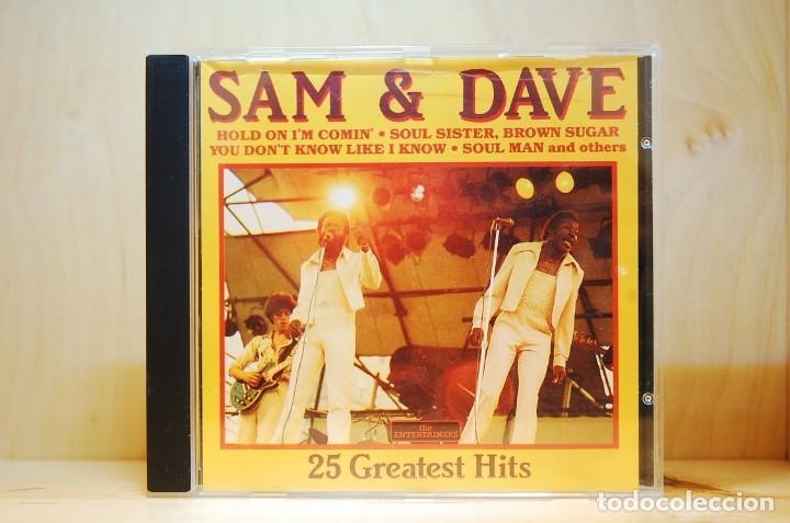 SAM & DAVE - 25 GREATEST HITS - CD - (Música - CD's Jazz, Blues, Soul y Gospel)