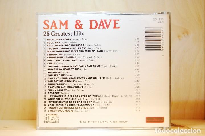 CDs de Música: SAM & DAVE - 25 GREATEST HITS - CD - - Foto 2 - 237010605