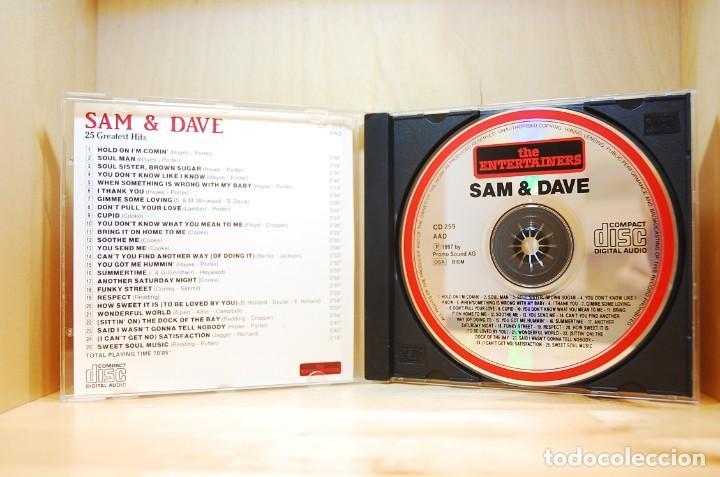 CDs de Música: SAM & DAVE - 25 GREATEST HITS - CD - - Foto 3 - 237010605