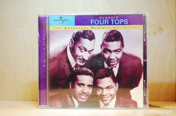 FOUR TOPS - CLASSIC FOUR TOPS - CD - (Música - CD's Jazz, Blues, Soul y Gospel)