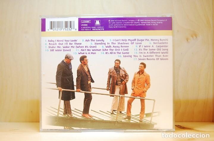 CDs de Música: FOUR TOPS - CLASSIC FOUR TOPS - CD - - Foto 2 - 237010720