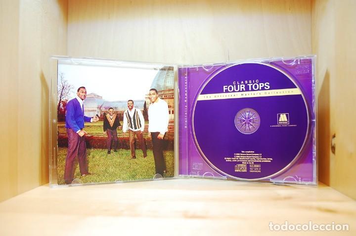 CDs de Música: FOUR TOPS - CLASSIC FOUR TOPS - CD - - Foto 3 - 237010720