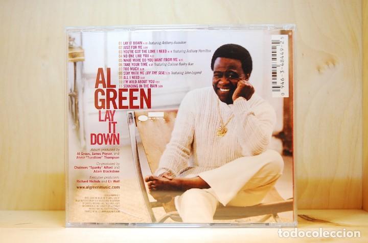 CDs de Música: AL GREEN - LAY IT DOWN - CD - - Foto 2 - 237010800