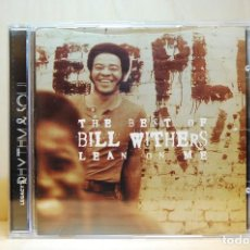 CDs de Música: THE BEST OF BILL WITHERS - LEAN ON ME - CD -. Lote 237010930