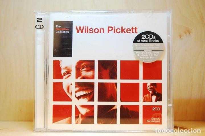 WILSON PICKETT - THE DEFINITIVE COLLECTION (DOBLE CD) - (Música - CD's Jazz, Blues, Soul y Gospel)