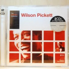 CDs de Música: WILSON PICKETT - THE DEFINITIVE COLLECTION (DOBLE CD) -. Lote 237011295