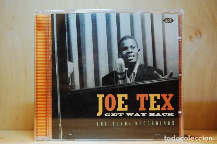 JOE TEX - GET WAY BACK. THE 1950'S RECORDINGS - CD - (Música - CD's Jazz, Blues, Soul y Gospel)
