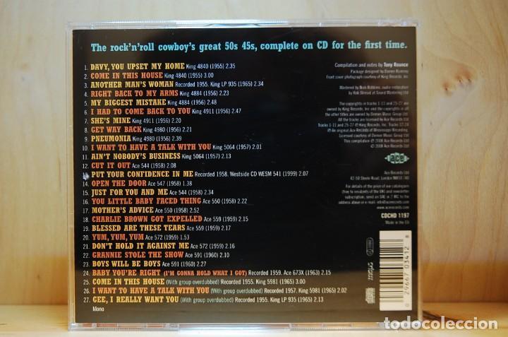 CDs de Música: JOE TEX - Get way back. The 1950s recordings - CD - - Foto 2 - 237011500