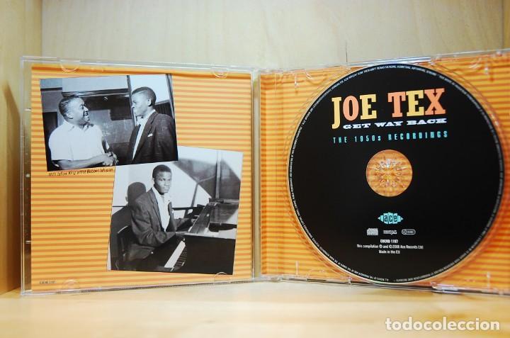 CDs de Música: JOE TEX - Get way back. The 1950s recordings - CD - - Foto 3 - 237011500