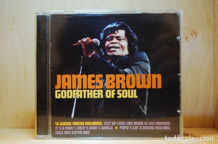 JAMES BROWN - GODFATHER OF SOUL - CD - (Música - CD's Jazz, Blues, Soul y Gospel)