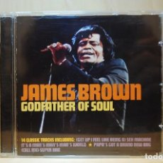 CDs de Música: JAMES BROWN - GODFATHER OF SOUL - CD -. Lote 237011700