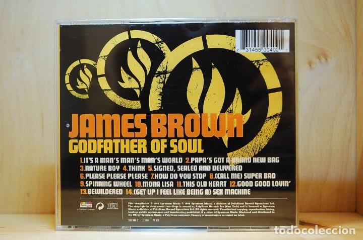 CDs de Música: JAMES BROWN - GODFATHER OF SOUL - CD - - Foto 2 - 237011700